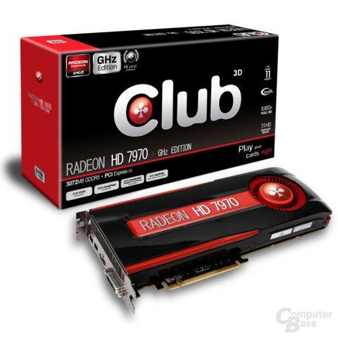 Club3D Radeon HD 7970 Ghz Edition