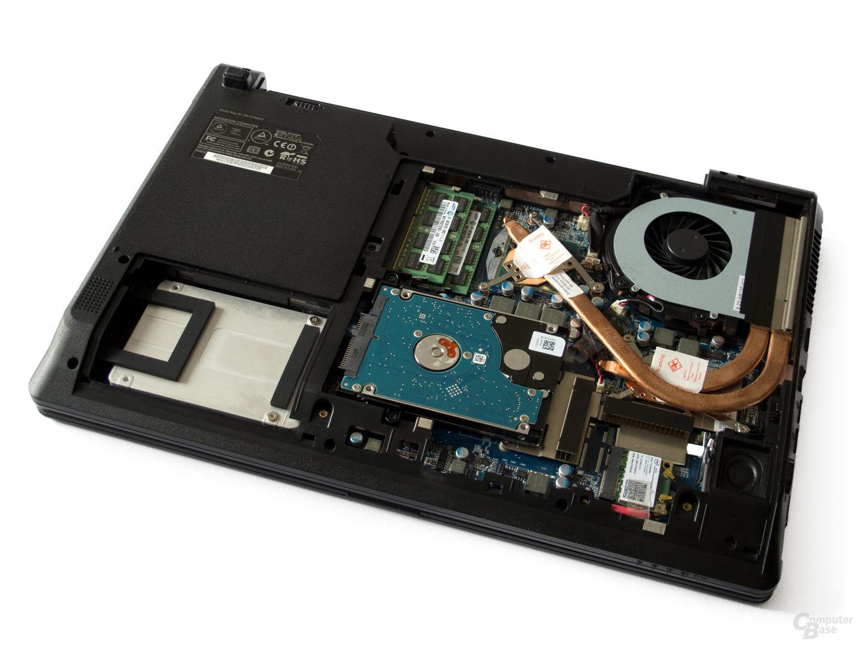 SSD, HDD, RAM, CPU und GPU