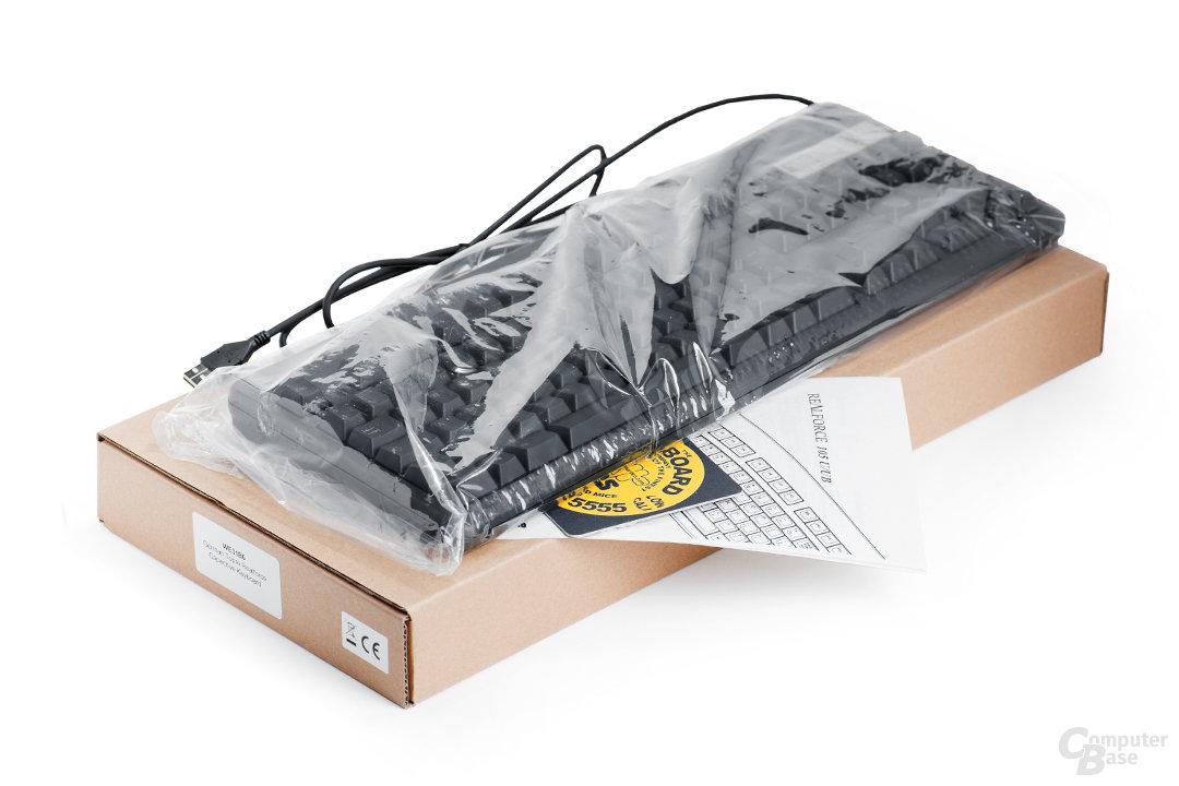 Lieferumfang und Karton-Verpackung