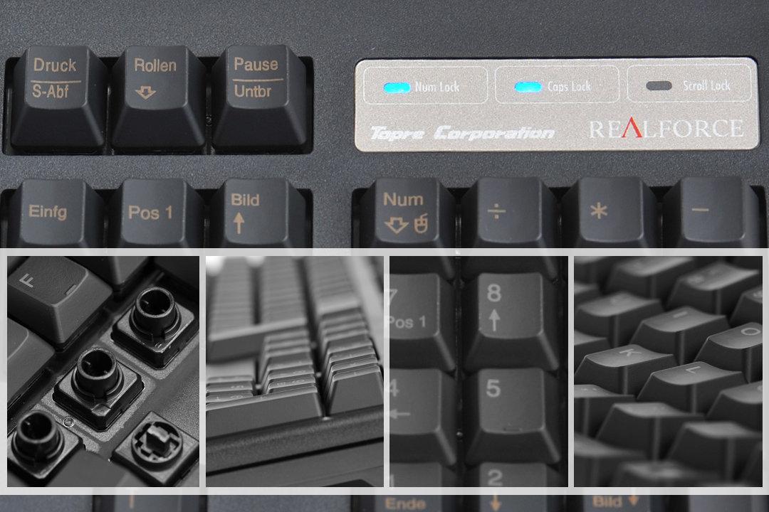 Topre Realforce 105 UB  – ein Exot unter den mechanischen Tastaturen