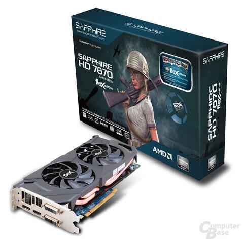 Sapphire Radeon HD 7870 Flex