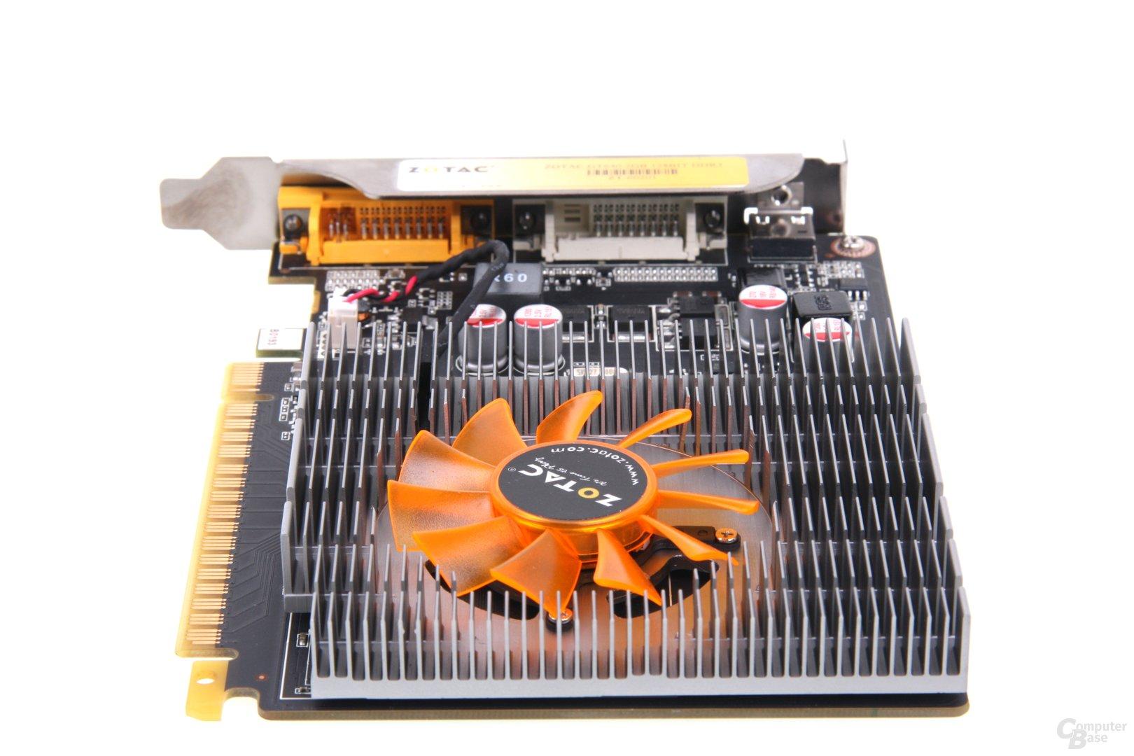 GeForce GT 640 von hinten
