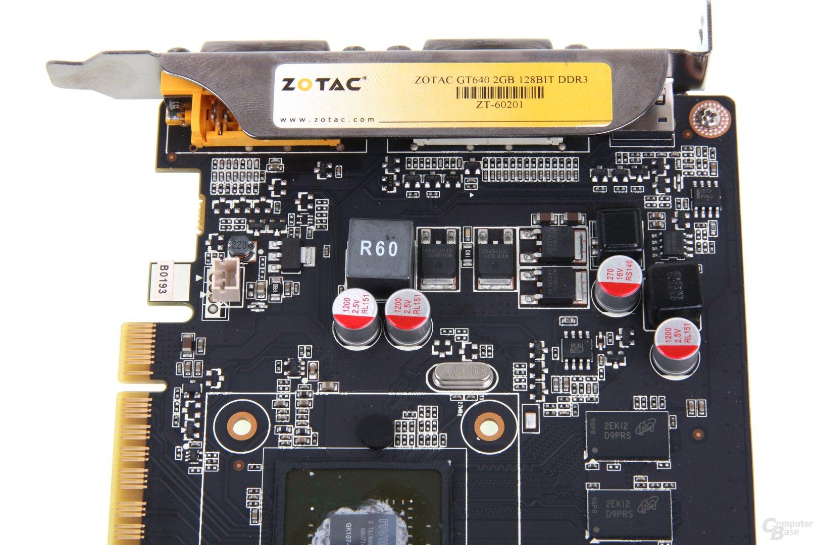 GeForce GT 640 Stromversorgung