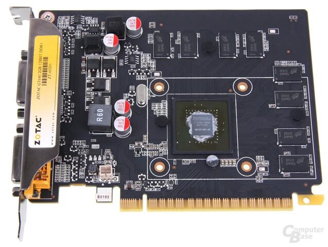 GeForce GT 640 ohne Kühler