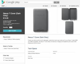 Schutzhülle für das Google Nexus 7