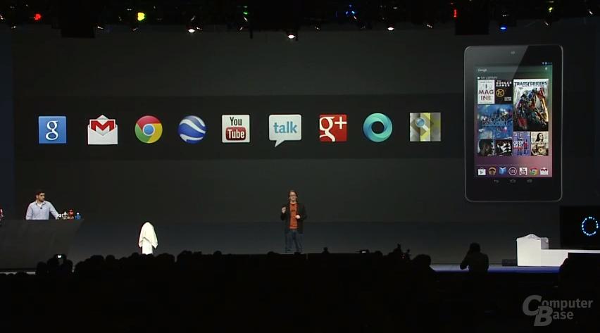 Präsentation des Google Nexus 7