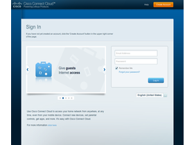 Router-Startseite