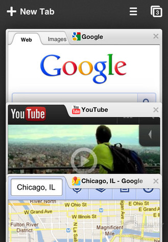 Google Chrome für iOS