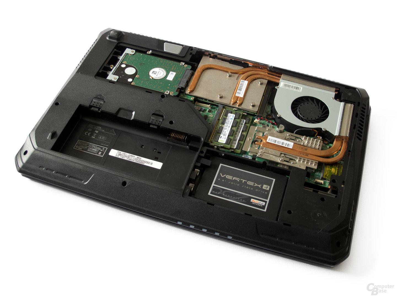 Blick ins Innere: HDD, SSD, GPU, CPU und RAM