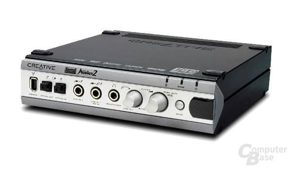 SoundBlaster Audigy2 Platinum EX - Front