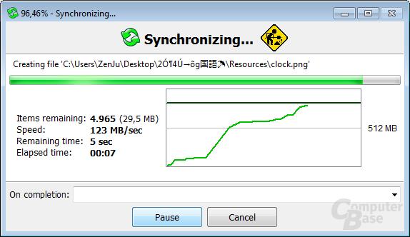 Synchronizing...