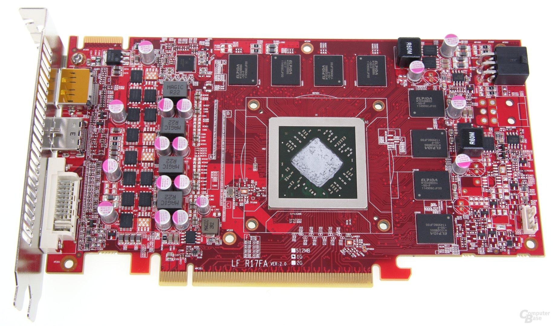 Radeon HD 7850 royalQueen ohne Kühler