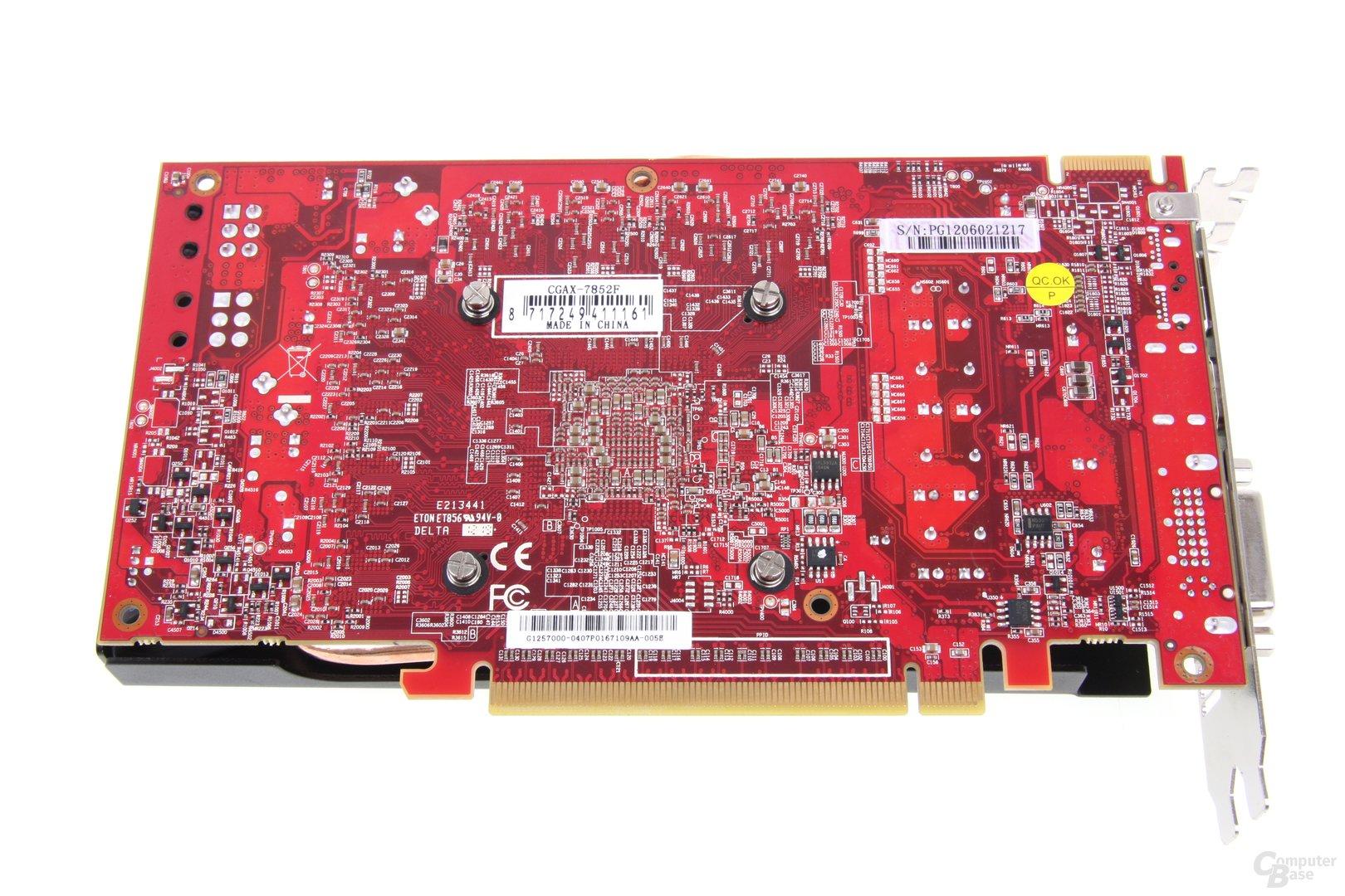 Radeon HD 7850 royalQueen Rückseite