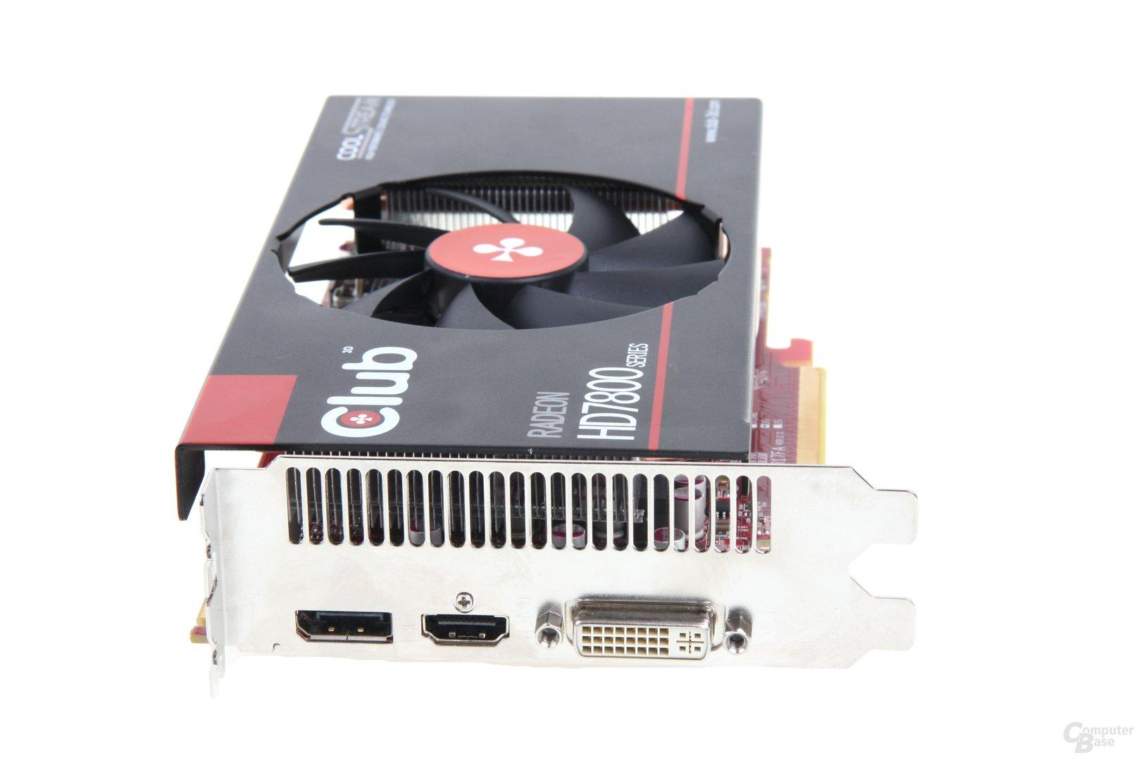 Radeon HD 7850 royalQueen Slotblech