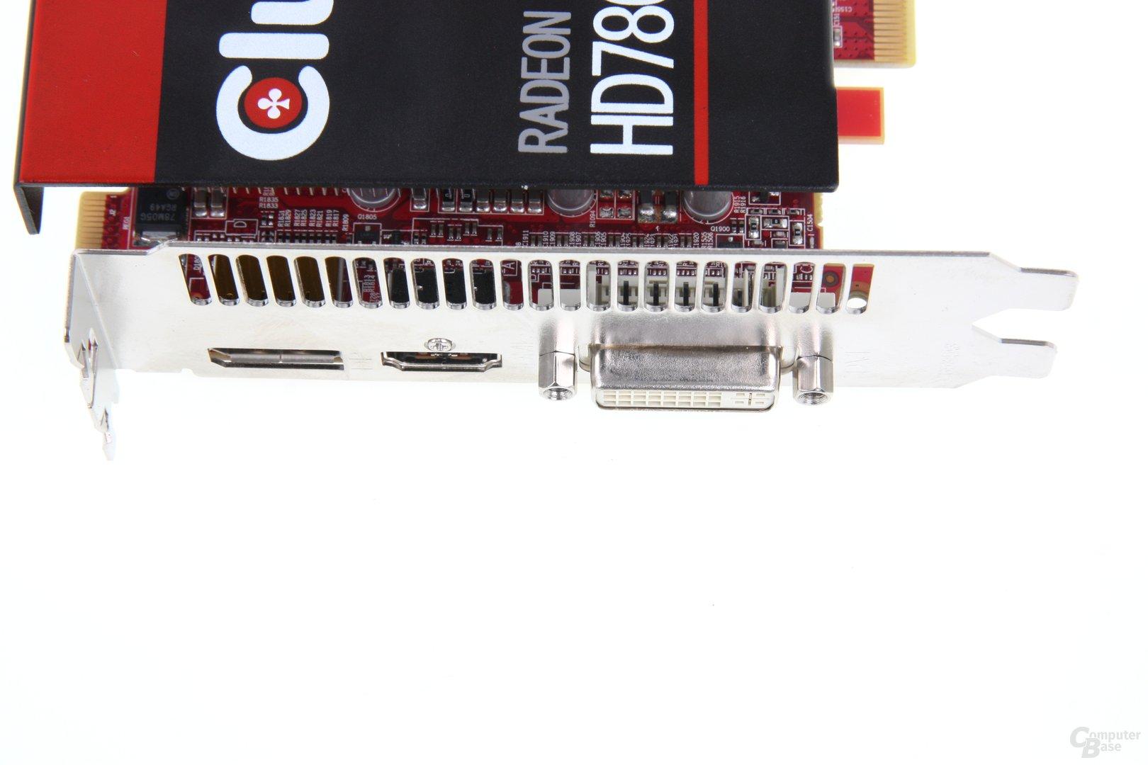 Radeon HD 7850 royalQueen Anschlüsse