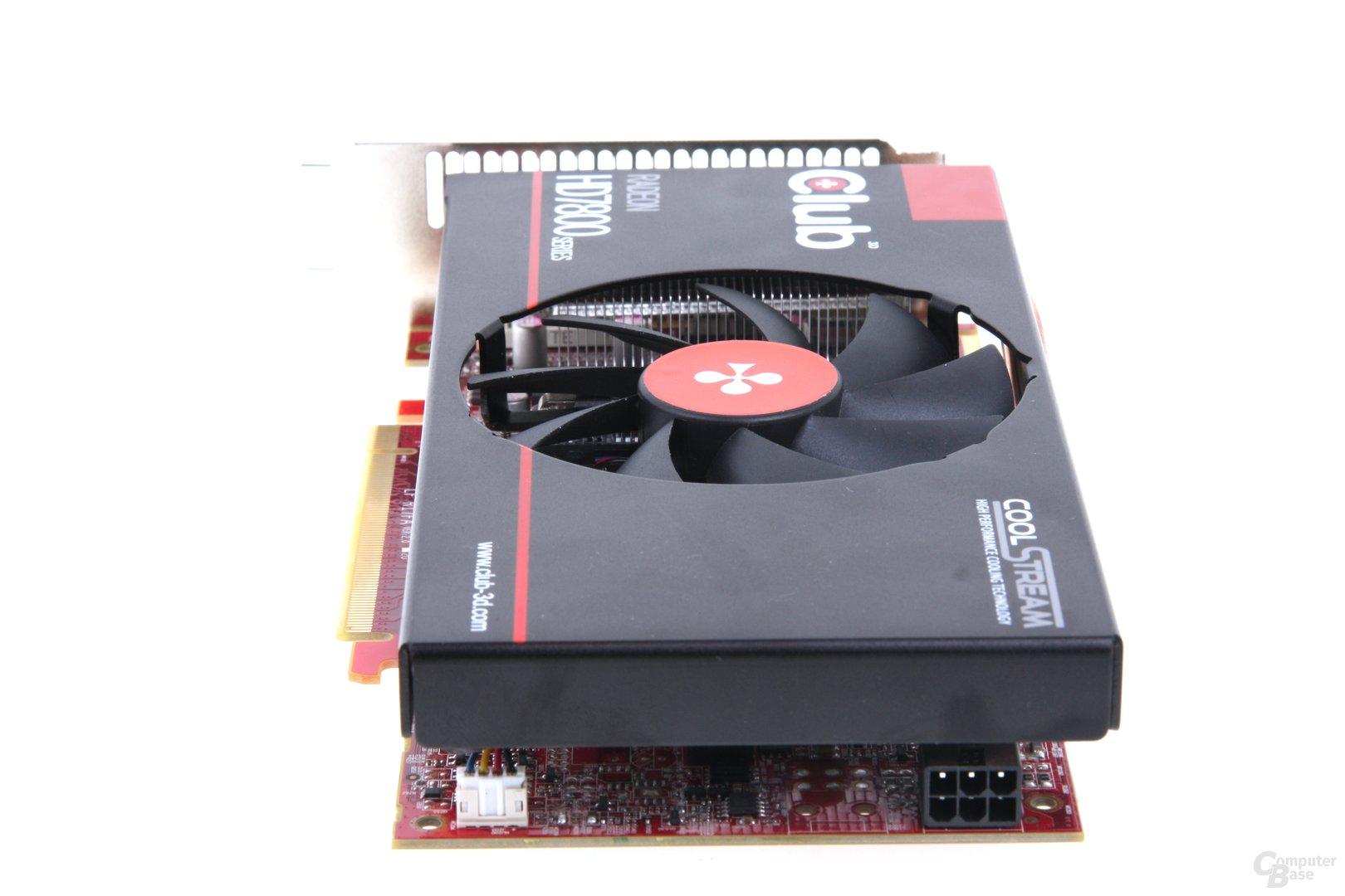 Radeon HD 7850 royalQueen von hinten