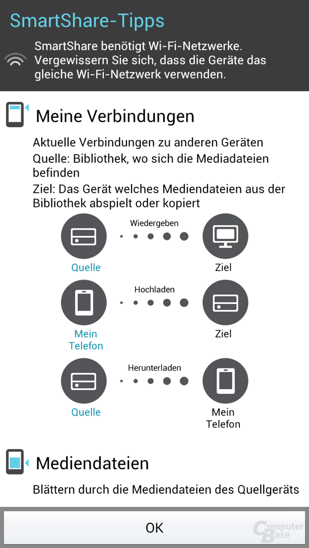 LG SmartShare (DLNA-App)