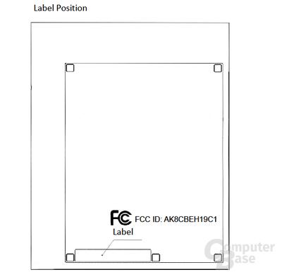 Neue Label-Position bei CECH-4001x