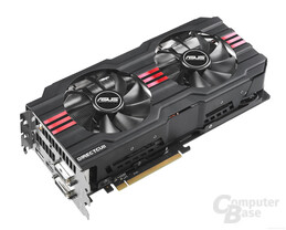 Asus Radeon HD 7950 DC II in der Revision 2