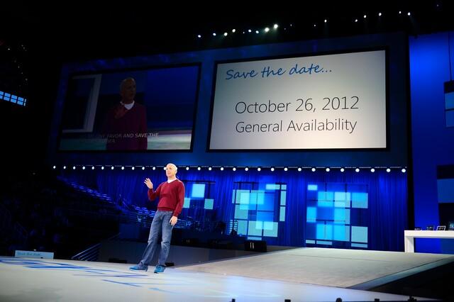 Windows 8 erscheint am 26. Oktober 2012