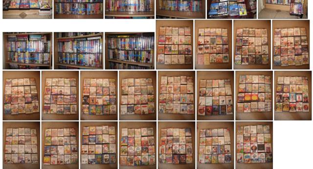 Ein winziger Auszug aus der riesigen Sammlung