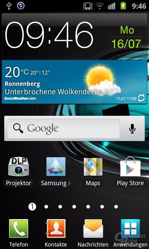Samsungs TouchWiz-Oberfläche