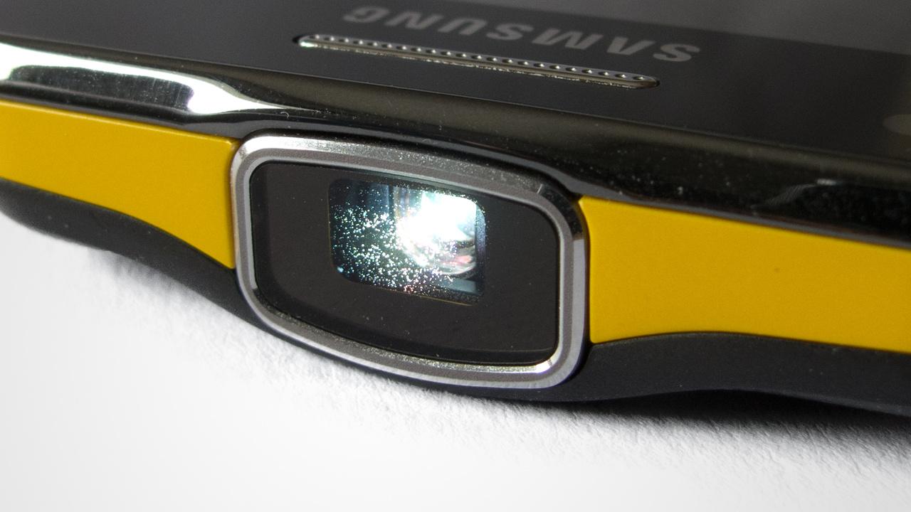 Samsung Galaxy Beam im Test: Das Hosentaschenkino zum Telefonieren