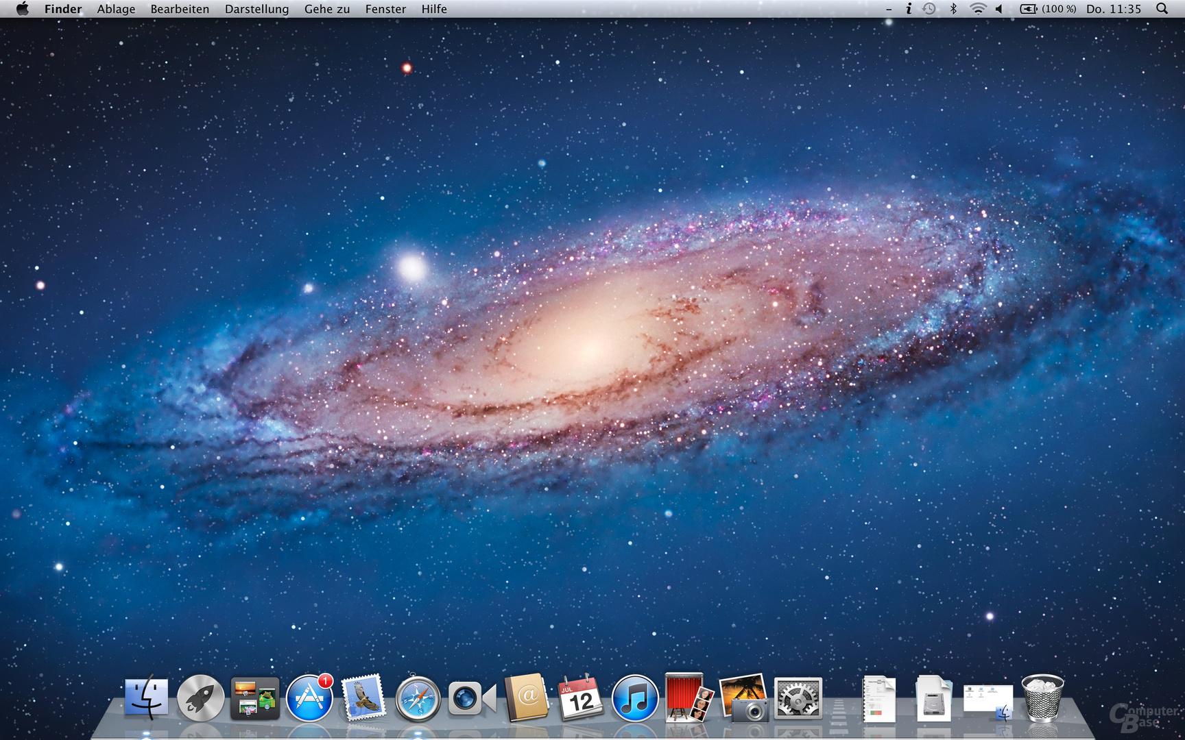 Mac OS X 10.7.4: Hintergrund in 2.880 × 1.800 Pixeln