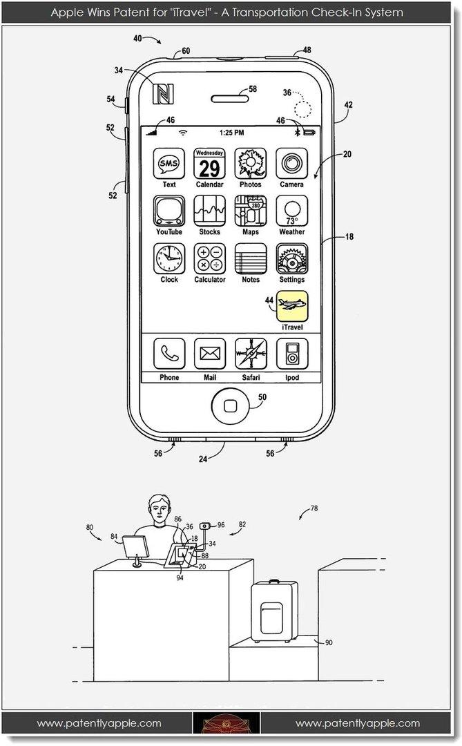 Patentbeschreibung von Apple