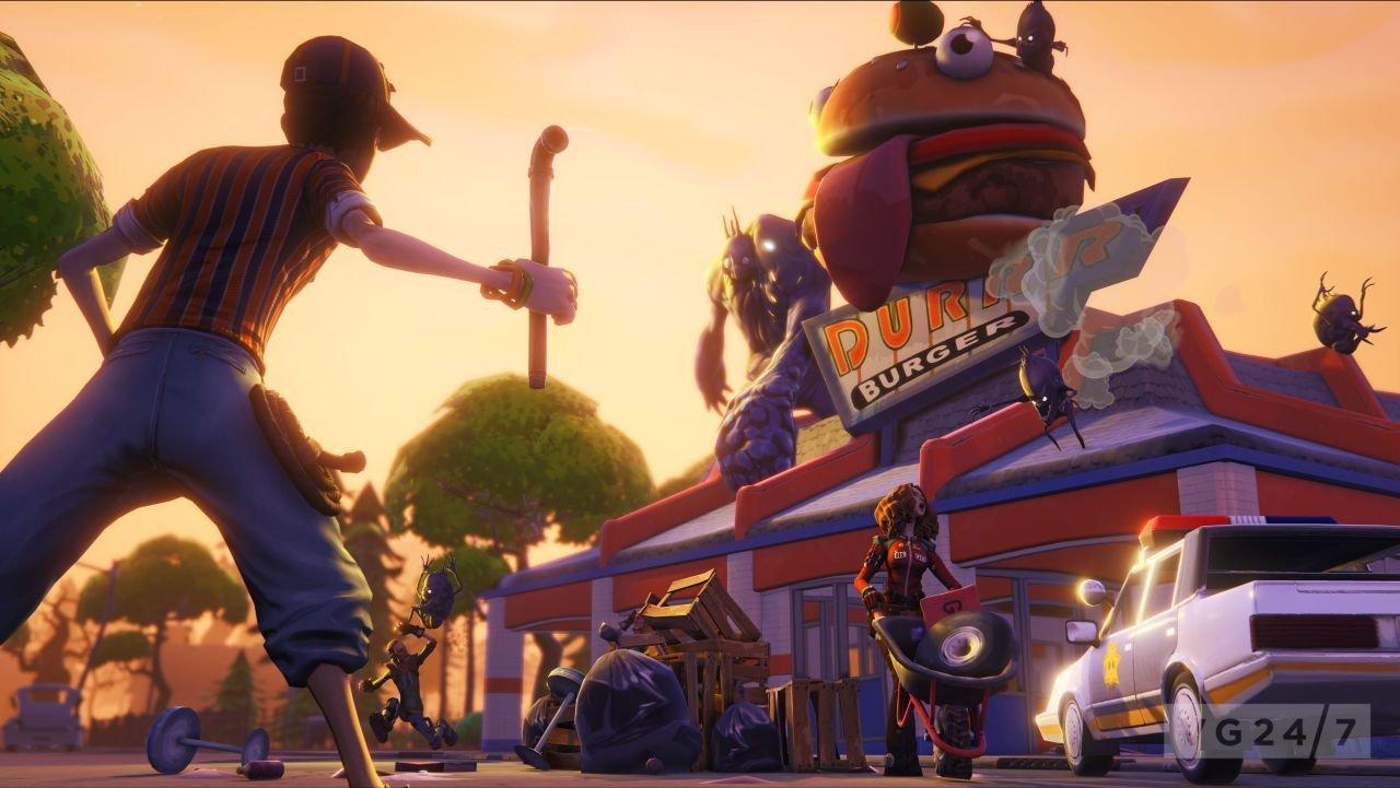 Fortnite mit Unreal Engine 4