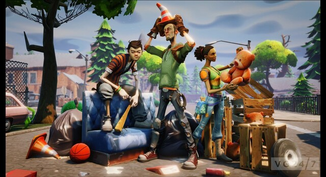 Fortnite mit Unreal Engine 4