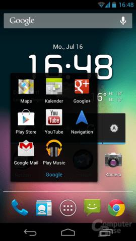 Android 4.1.1 auf dem Galaxy Nexus