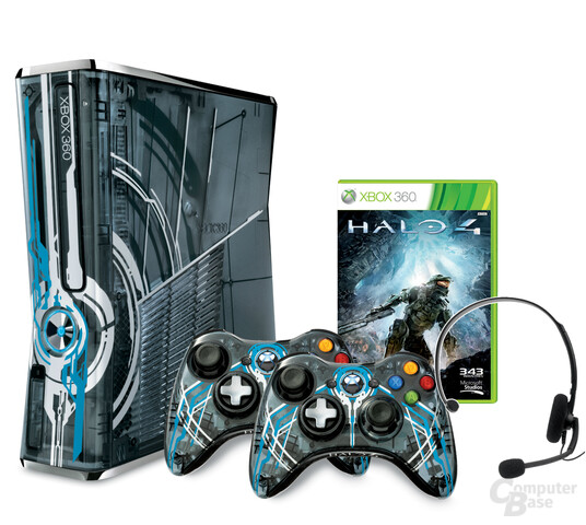 Xbox 360 in der Halo-4-Limited-Edition