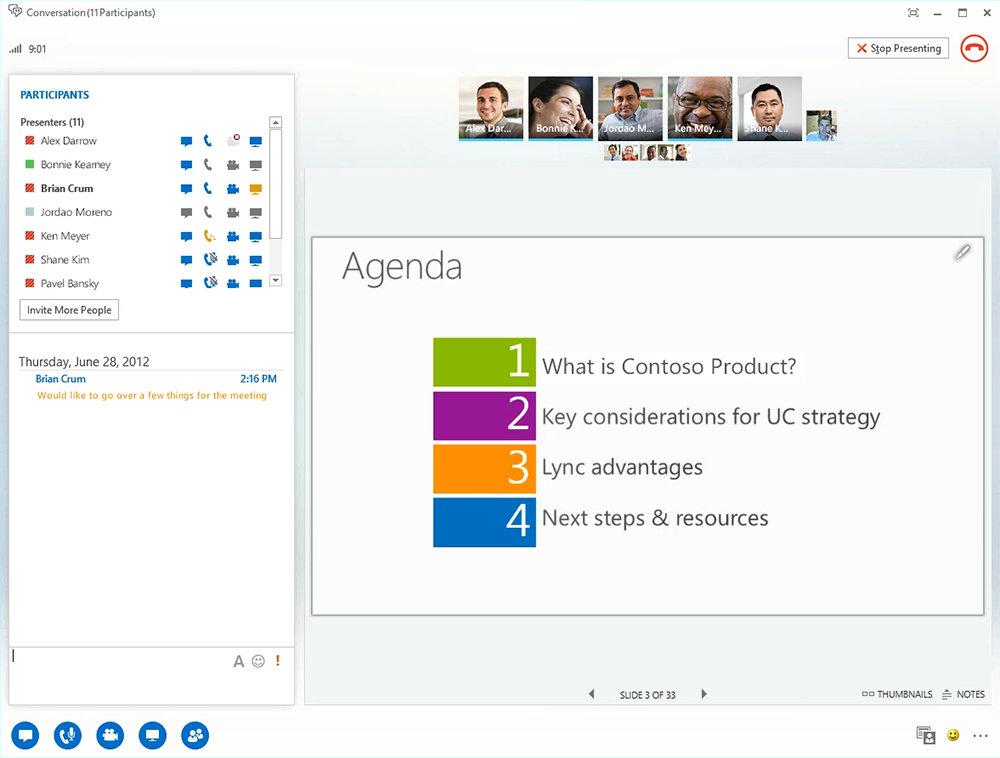 Microsoft: The New Office – Lync