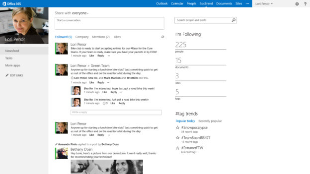 Microsoft: The New Office – SharePoint