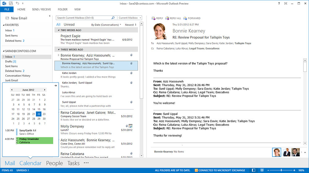 Microsoft: The New Office – Outlook