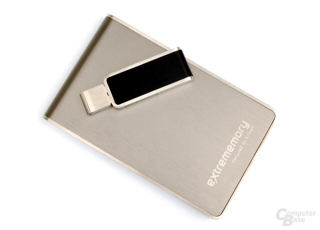 Festplatte und Stick