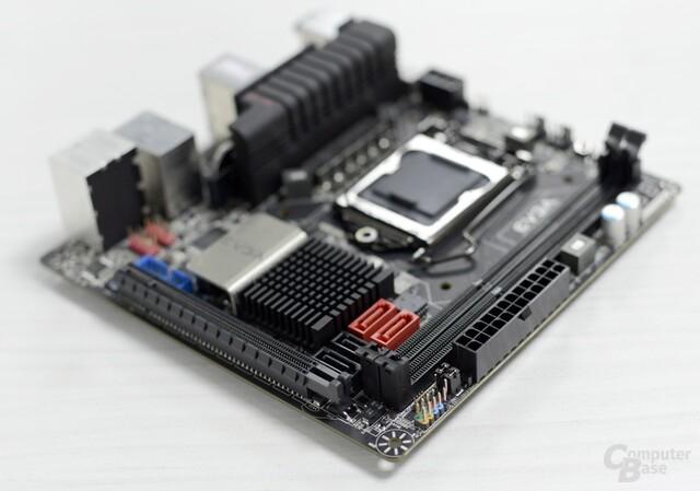 EVGA Z77-Mainboard im ITX-Format