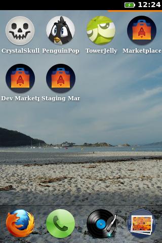 Firefox OS: Home-Bildschirm 2