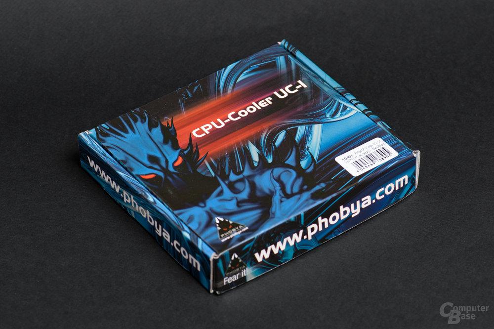 Retailverpackung noch im typischen Phobya-Design