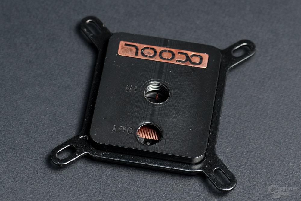 Zurückhaltendes Design mit POM-Deckel