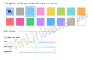 Veränderte Einstellungen für das Windows-Design