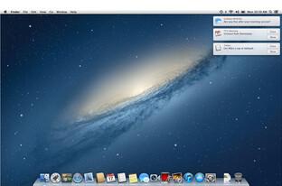 Mitteilungen unter OS X 10.8 Mountain Lion