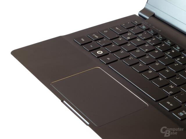 Gute Tastatur, sehr gutes Touchpad
