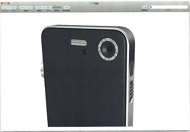 iPhone-Prototypen und CAD-Renderings