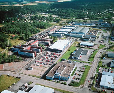 Nokia Produktionsstätte in Salo, Finnland