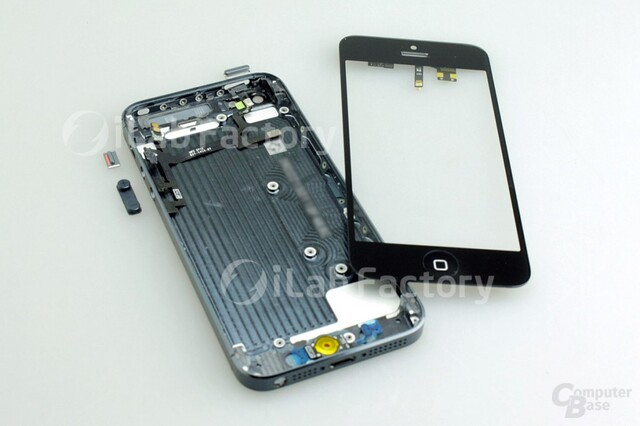 Angebliche Bilder des iPhone 5