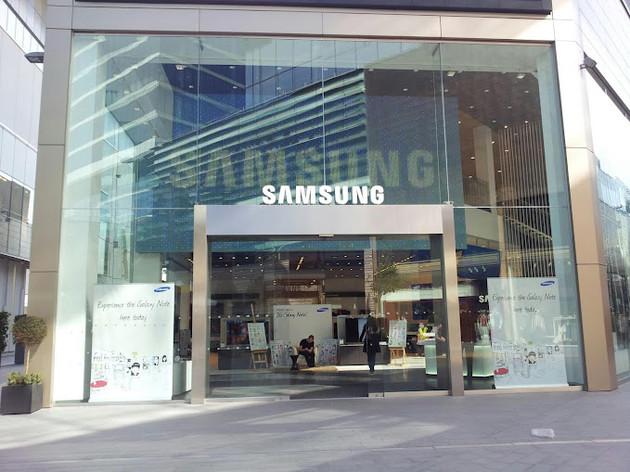 Samsungs Flagship-Store in London