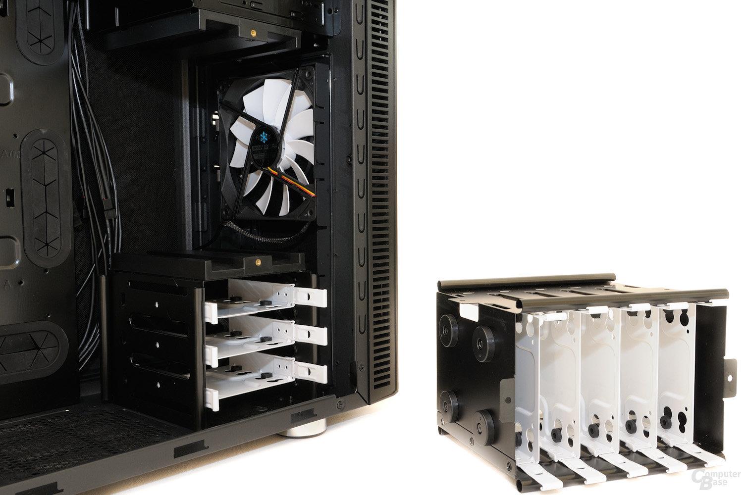 Fractal Design Define R4 - Entfernbarer Festplattenkäfig