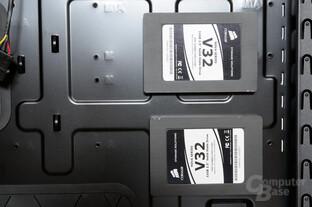 """Fractal Design Define R4 - Installation 2,5""""-Datenträger an der Rückwand"""